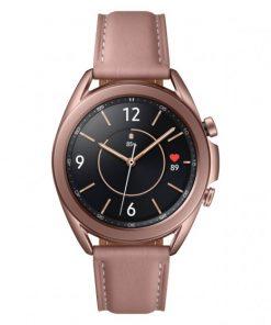 SM-R855FZDAXSA-Samsung Galaxy Watch3 Cellular (41mm) Mystic Bronze- Super AMOLED display
