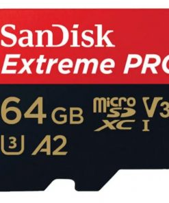 SDSQXCY-064G-GN6MA-SanDisk Extreme Pro 64GB microSD SDHC SQXCG 170MB/s 90MB/s V30 U3 C10 UHS-1 4K UHD Shock temperature water  X-ray proof with SD Adaptor