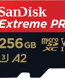 SDSQXCZ-256G-GN6MA-SanDisk 256GB microSD Extreme Pro SDHC SQXCG 170MB/s 90MB/s V30 U3 C10 UHS-1 4K UHD Shock temperature water  X-ray proof with SD Adaptor