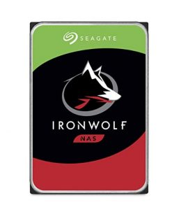 """ST10000VN0008-Seagate 10TB 3.5"""" IronWolf  SATA3 NAS 24x7 7200RPM 256MB Cache. Performance HDD. 3 Years Warranty"""
