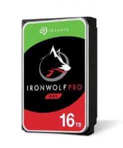 "ST16000NE000-Seagate 16TB 3.5"" IronWolf PRO SATA3 NAS 24x7 Performance 7200 RPM 256MB Cache HDD. (ST16000NE000) 5 Years Warranty"