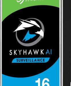 """ST16000VE002-Seagate 16TB 3.5"""" SkyHawk AI Surveillance SATA HDD 256MB Cache"""