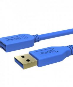 CA315-Simplecom CA315 1.5M 5FT USB 3.0 SuperSpeed Extension Cable Insulation Protected Gold Plated