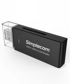 CR301-Simplecom CR301 SuperSpeed USB 3.0 Card Reader 2 Slot (LS) ---> USSI-CR303