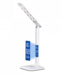 EL808-Simplecom EL808 Dimmable Touch Control Multifunction LED Desk Lamp 4W with Digital Clock