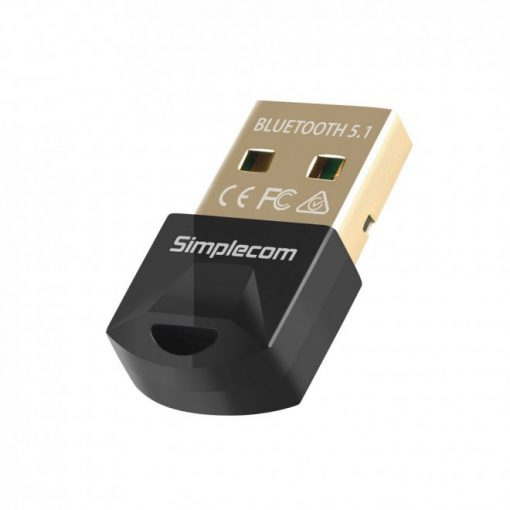 NB410-Simplecom NB410 USB Bluetooth 5.1 Adapter Wireless Dongle