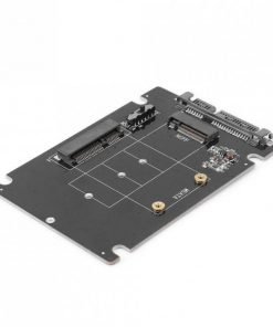 SA207-Simplecom SA207 mSATA + M.2 (NGFF) to SATA 2 In 1 Combo Adapter