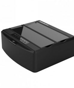 "SD312-BLACK-Simplecom SD312 Dual Bay USB 3.0 Docking Station for 2.5"" and 3.5"" SATA Drive"