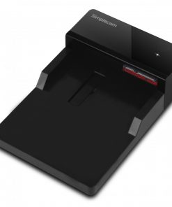 "SD323-BLACK-Simplecom SD323 USB 3.0 Horizontal SATA Hard Drive Docking Station for 3.5"" and 2.5"" HDD Black"