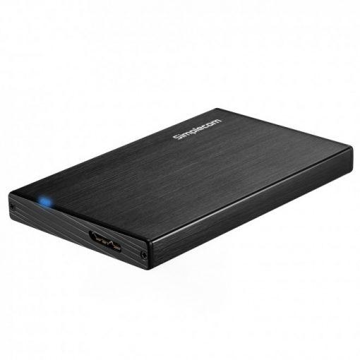 SE212-Simplecom SE212 Aluminium Slim 2.5'' SATA to USB 3.0 HDD Enclosure