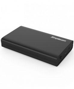 """SE301-BK-Simplecom SE301 3.5"""" SATA to USB 3.0 Hard Drive Docking Enclosure"""