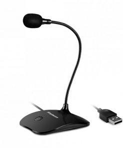 UM350-Simplecom UM350 Plug and Play USB Desktop Microphone with Flexible Neck and Mute Button