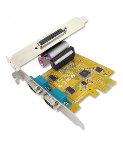 MIO6479A-Sunix MIO6479A PCIE 2-port Serial RS-232  1-port Parallel IEEE1284 Card