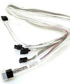 CBL-SAST-0556-SM Internal mSAS HD to 4xSATA 75cm