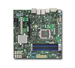 X11SAE-M-Supermicro X11SAE mATX E3-1200v5/v6