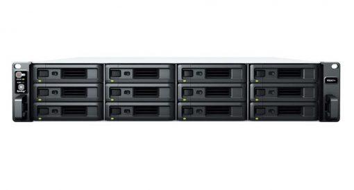 RS2421+-Synology RackStation RS2421+ 12 Bay AMD Ryzen 4GB DDR4 ECC UDIMM 4xRJ-45 1GbE 2xUSB3.2 1xGen3 x8 slot 2U WOL/W 3YR WTY