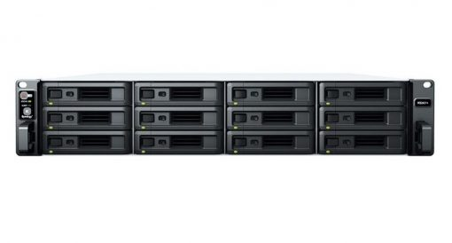 RS2421RP+-Synology RackStation RS2421RP+ 12 Bay AMD Ryzen 4GB DDR4 ECC UDIMM 4xRJ-45 1GbE 2xUSB3.2 1xGen3 x8 slot 2U WOL/W Redudant power 3YR WTY
