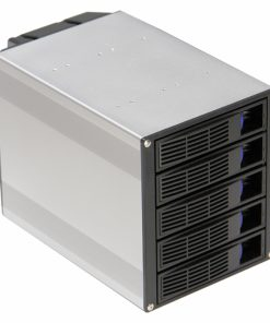 """H500-TGC Chassis Accessory SATA Hot Swap Drive Way 3x 5.25"""" Drive Bay to 5x 3.5"""" Hot Swap Bays. - Suits non Host Swap Chasis"""