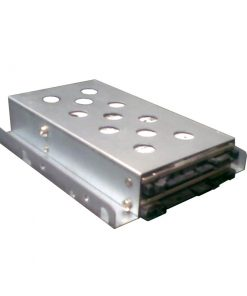 """TGC-02A-TGC Server  Chassis Accessory 1 x 3.5"""" to 2 x 2.5"""" HDD/SSD Tray Converter Metal Silver"""