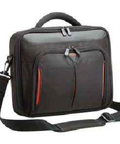 """CNFS415AU-Targus 15-15.6"""" Classic+ Clamshell Case/Laptop/Notebook Bag with File Section - Black"""