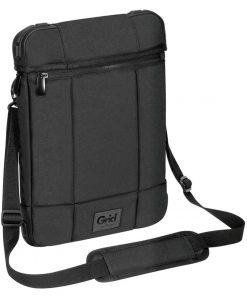 """TSS847AU-Targus 12"""" Grid High Impact Vertical Slipcase/Laptop/ Notebook Bag with Extreme Urban Protection  Weather Resistant- Black"""