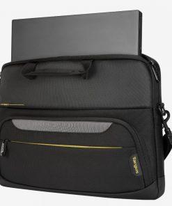 "TSS867GL-Targus 15.6"" CityGear III SlimLit Laptop Case/Laptop/Notebook Bag  - Black"