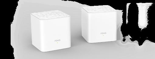 MW3(2-pack)-Tenda Nova MW3 2-pack AC1200 Whole-home Mesh WiFi System