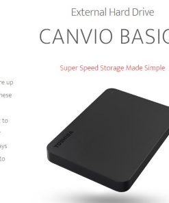 HDTB410AK3AA-Toshiba 1TB CANVIO® BASICS PORTABLE HARD DRIVE STORAGE. 3 Years Warranty (new HDTB410AK3AA)