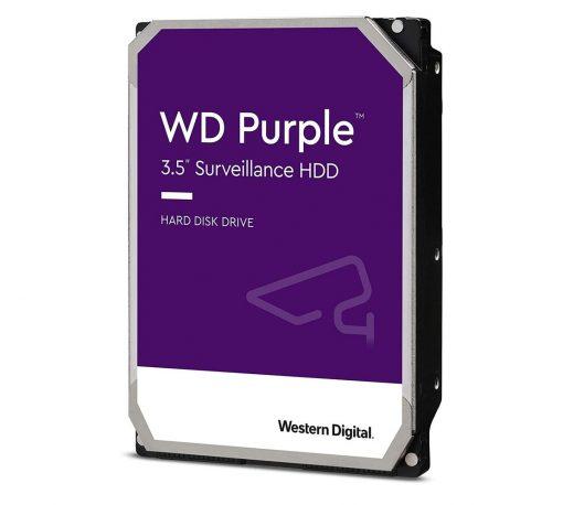 """WD101PURP-Western Digital WD Purple Pro 10TB 3.5"""" Surveillance HDD 7200RPM 256MB SATA3 265MB/s 550TBW 24x7 64 Cameras AV NVR DVR 2.5mil MTBF 5yrs ~WD102PUZ"""