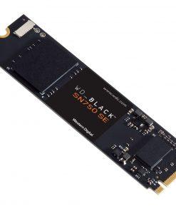 WDS100T1B0E-Western Digital WD Black SN750 SE 1TB Gen4 NVMe SSD 3600MB/s 2830MB/s R/W 600TBW 1000K/710K IOPS 1.75M Hrs MTBF M.2 2280 PCIe4.0 5yrs Wty