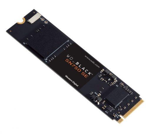 WDS250G1B0E-Western Digital WD Black SN750 SE 250GB Gen4 NVMe SSD 3200MB/s 1000MB/s R/W 200TBW 1000K/710K IOPS 1.75M Hrs MTBF M.2 2280 PCIe4.0 5yrs Wty