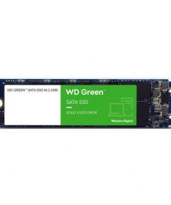 WDS480G2G0B-Western Digital WD Green 480GB M.2 SATA SSD 545R/430W MB/s 80TBW 3D NAND 7mm 3 Years Warranty