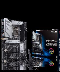 PRIME Z590-P WIFI-ASUS PRIME Z590-P WIFI Intel Z590 (LGA 1200) ATX motherboard with PCIe 4.0