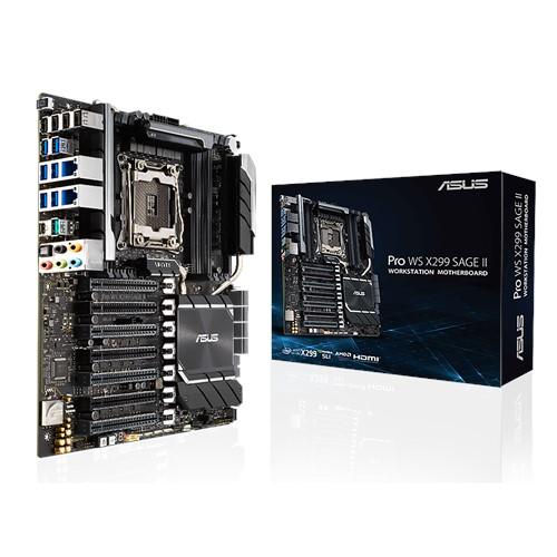 PRO WS X299 SAGE II-ASUS PRO WS X299 SAGE II Intel CEB Motherboard LGA 2066
