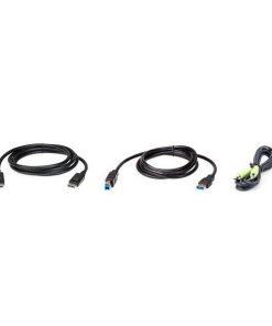 2L-7D02UDPX3-Aten 2M USB DisplayPort KVM Cable Kit