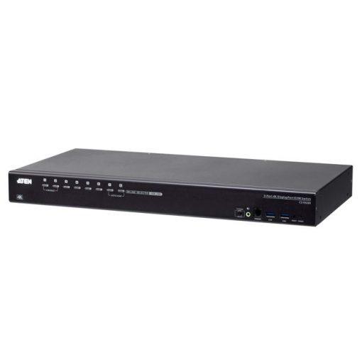 CS19208-AT-U-Aten CS19208 8-Port USB 3.0 4K Display Port KVM Switch