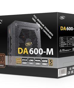 DP-BZ-DA600-MFM-Deepcool DA600-M Fully Modular 600W Power Supply Unit (PSU)