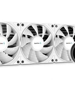 DP-GS-H12W-CSL360EX-AR-WH-Deepcool Castle 360EX A-RGB White CPU Liquid Cooler Intel LGA20XX/1151/1150/1155/1200/1366 AMD TRX4 TR4 AM4 AM3+ AM3 AM2+ AM2 FM2+ FM2 FM1