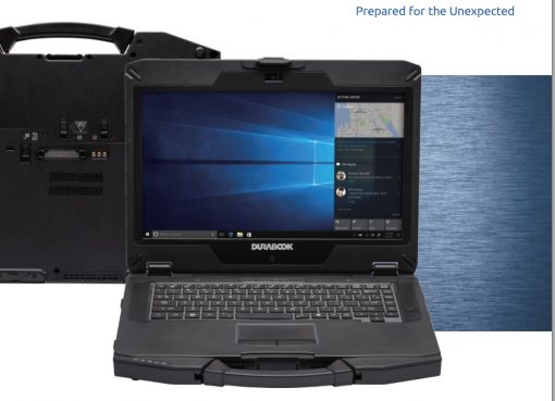 """S14I-V2-Durabook S14I Rugged 14"""" FHD Intel i5-1135G7 8GB 256GB SSD WIN10 PRO Intel Iris Xe Graphics WIFI6 HDMI RS-232 Serial 3YR WTY Rugged Tough Notebook"""
