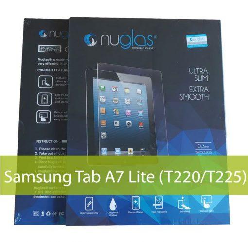 ACC-NG-RSA7L-Nuglas Premium Samsung Tab A7 Lite (T220/T225) Tempered Glass Screen Protector