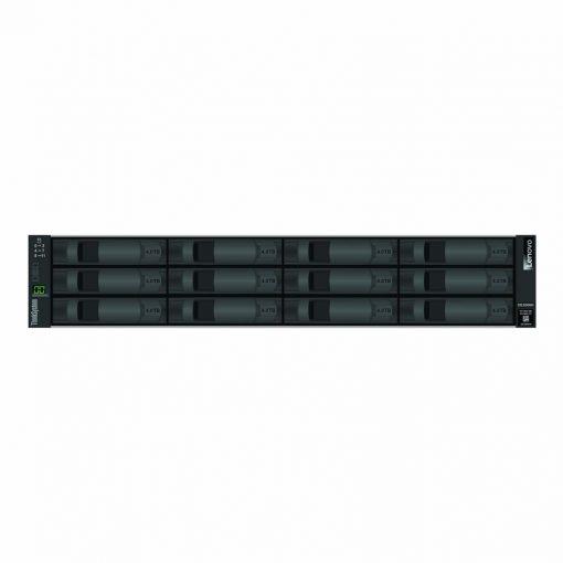 7Y70A003WW-Lenovo ThinkSystem DE2000H 10GBASE-T iSCSI Hybrid Flash Array LFF 2u