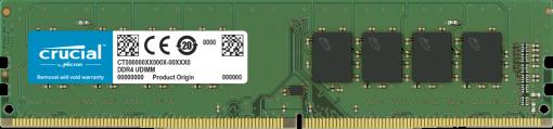 CT16G4DFRA32A-P-Crucial 16GB (1x16GB) DDR4 UDIMM 3200MHz CL22 1.2V Unbuffered Desktop PC Memory RAM