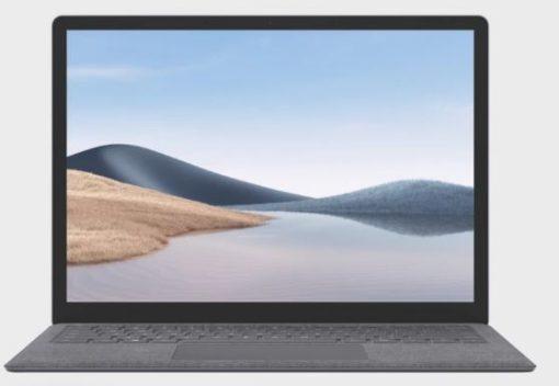 "5PB-00016-Microsoft Surface Laptop 4 13.5""  AMD Ryzen 5  8GB 256GB SSD Windows 10 Home 1 Year Warranty - Platinum  Retail Model"