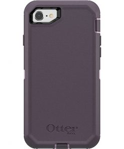 77-56605-OtterBox Apple iPhone SE (2nd gen) and iPhone 8/7 Defender Series Case - Purple Nebula