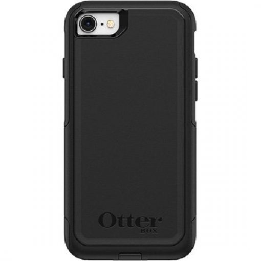 77-56650-Otterbox Apple iPhone SE (2nd gen) and iPhone 8/7 Commuter Series Case - Black