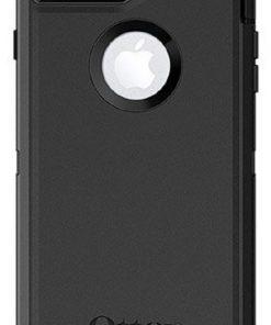 77-56825-OtterBox Apple  Defender Series Case for iPhone 8 Plus/7 Plus - Black (77-56825)