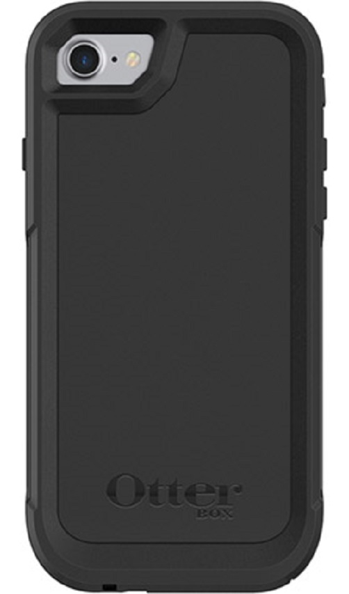77-58238-OtterBox Apple iPhone SE (2nd gen) and iPhone 8/7 Pursuit Series Case - Black