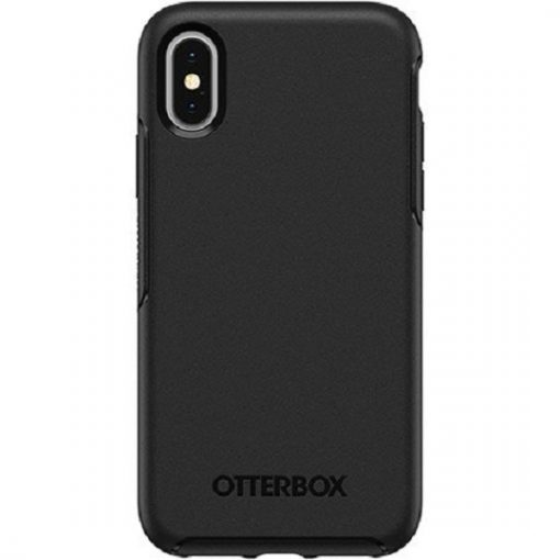 77-59526-OtterBox Symmetry Series For Apple iPhone X / iPhone Xs - New Thin Design - Black