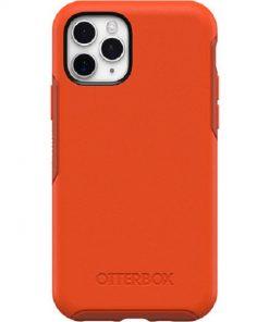 77-62533-OtterBox Apple iPhone 11 Pro Symmetry Series Case - Risk Tiger Red/Orange (77-62533)
