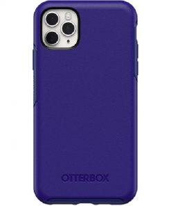77-62594-OtterBox Apple iPhone 11 Pro Max Symmetry Series Case - Sapphire Secret Blue (77-62594)